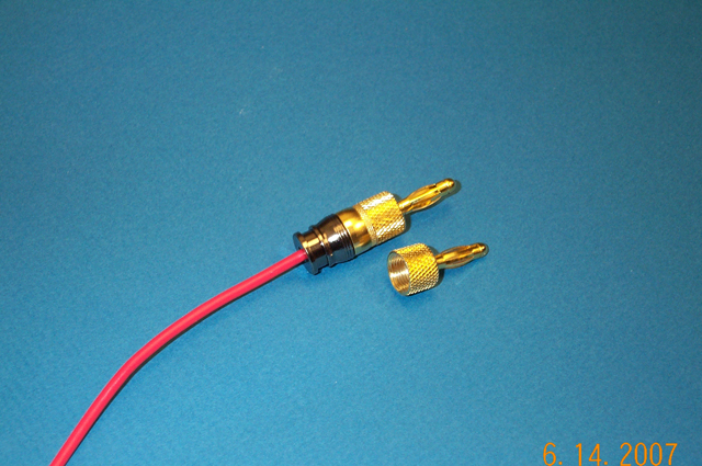 CONNECTEC Banana Plug, (Gold)