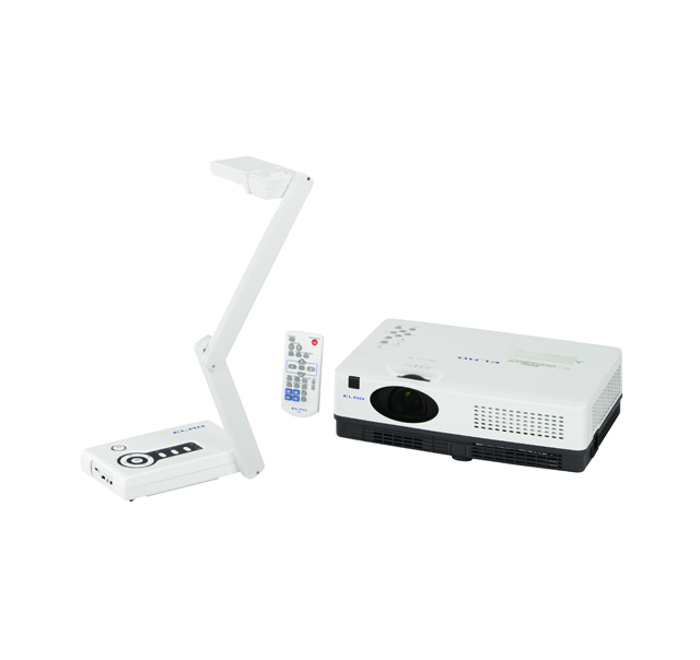 ELMO CO-10 Presenter CRP-221 Projector Bundle