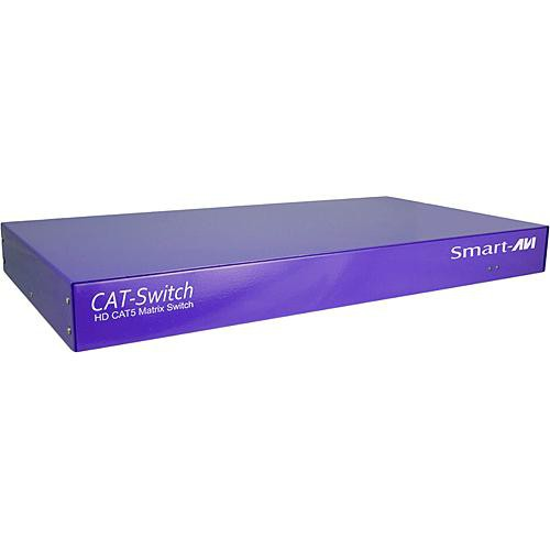 Smart-AVI CSWP16X08S CATSWITCH 16x8 Matrix with IR & RS-232 Control