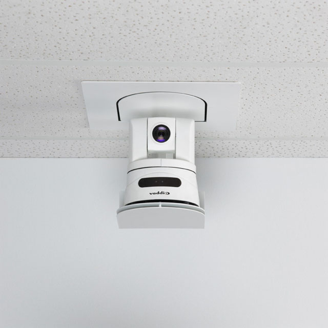 CeilingVIEW HD HideAway camera list system built for the Vaddio ClearVIEW & PowerVIEW family of cameras.