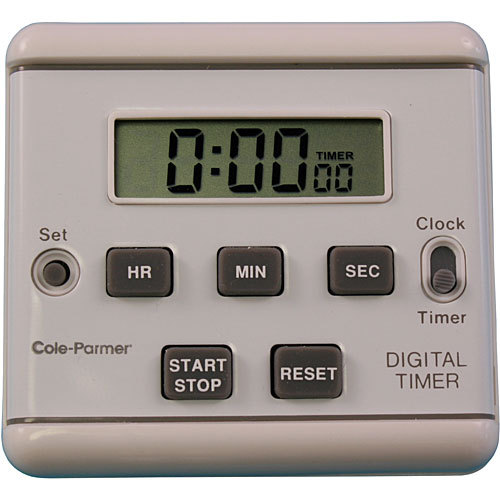 Amplivox S1321 Clip-On Clock Timer with Electronic Display