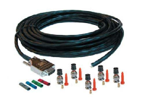 Liberty D-INSTALLKIT-CMP-50 50ft VGA Male to 5BNC Male Plenum Video Cable