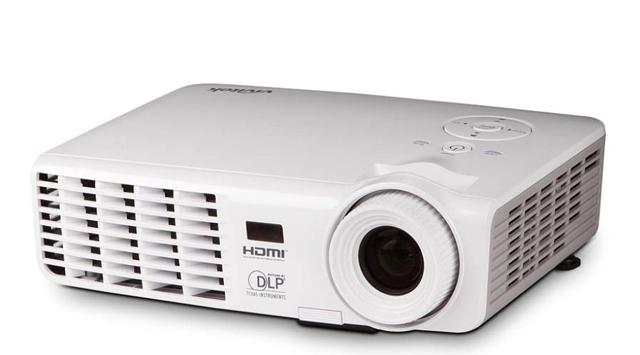 Vivitek D538W-3D 3200 Lumen WXGA HDMI Portable DLP Projector