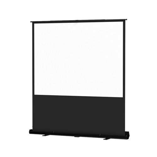 Da-Lite 33033 Matte White 4:4 48in. x 64-80in. Deluxe Insta-Theater