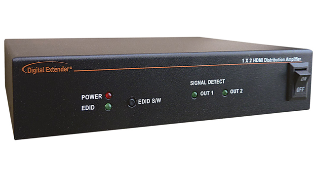 DigitalLinx 1:2 HDMI Distribution Amplifier