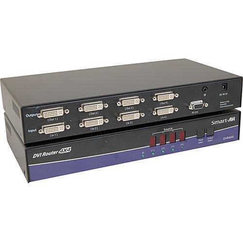 Smart-AVI DVR4X4 DVI-D Router (1080p WXGA)