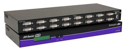 SmartAVI DVR8X8S DVI-D Router (8 Input/Output)