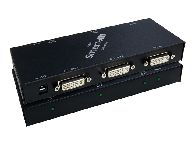 SmartAVI DVS2PS 2-Port DVI Splitter (Up to 24in. Displays)