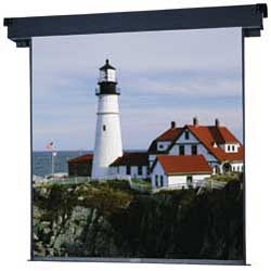 180in. Boardroom Electrol Motorized Screen (105 x 140in.) (Matte White) 4:3