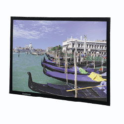 Da-Lite 78190 72in. Video Format Perm Wall Screen 4:3 Projector Screen