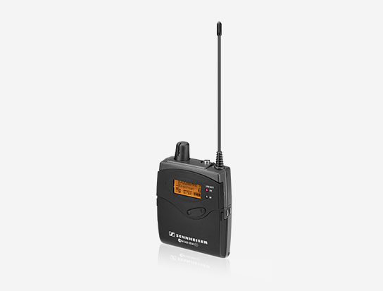 Sennheiser EK300IEMG3-B Wireless Audio Bodypack Receiver, 626 to 668MHz RF