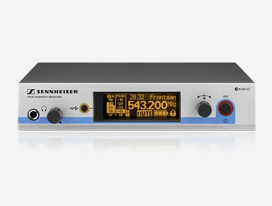 Sennheiser EM500G3-G Studio Sound Wireless Receiver System, 566-608MHz