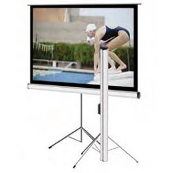 Elite T120UWV1 Tripod Series 120in. Portable Screen