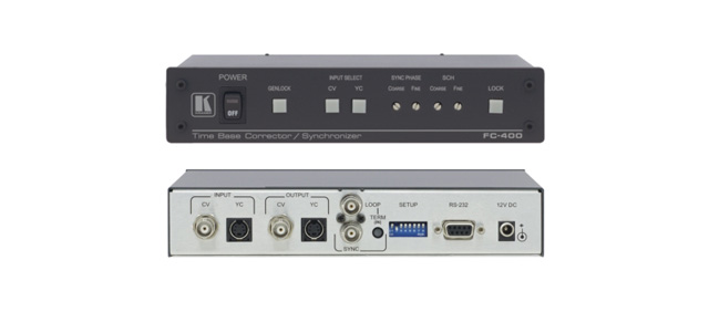 Time Base Corrector, Synchronizer & Format Converter