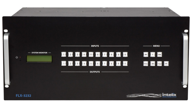 Liberty FLX-3232 Flexible Card-Based Matrix Switcher - 32 Inputx32 Output