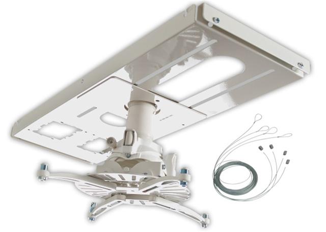 Premier Mounts FTP-FCTA4W-QL Hidden False Ceiling FTP projector mount bundle