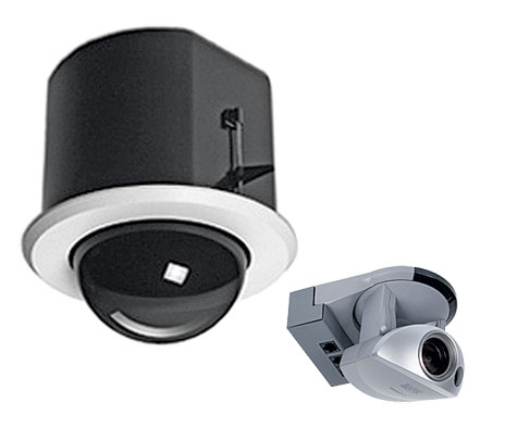 Flush Mount Dome Enclosure and Canon VC-C50iR PTZ Camera