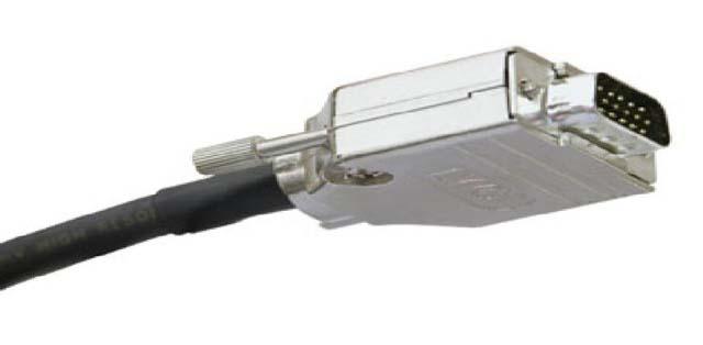 35ft EDID VGA Male to Male Plenum Video Cable, Black