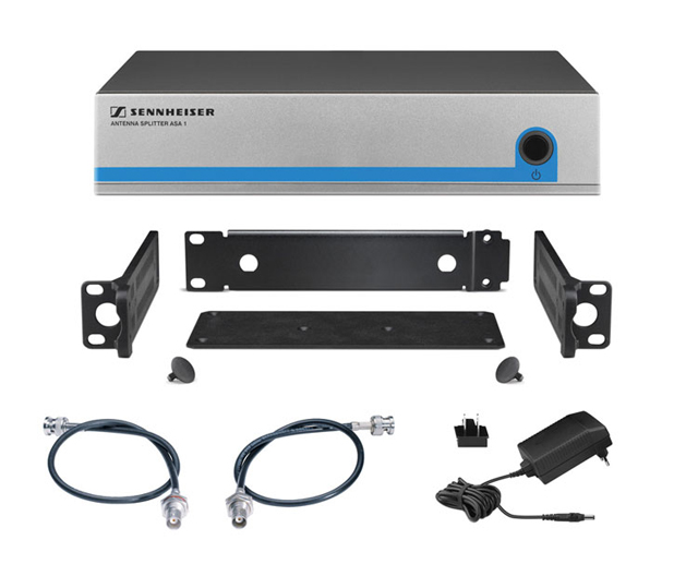 Sennheiser G3FRONTKIT4 Active Splitter Kit for Four Receiver System