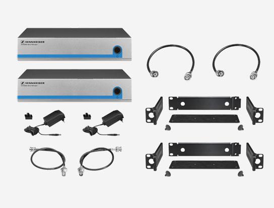Sennheiser G3FRONTKIT8 Active Splitter Kit for Eight Receiver System