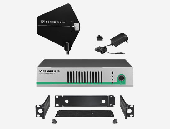 Sennheiser G3IEMDIRKIT4 Active Combiner Kit for Four IEM Transmitters