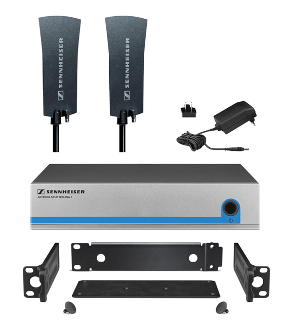 Sennheiser G3OMNIKIT4 Active Splitter Kit for Four Receiver System