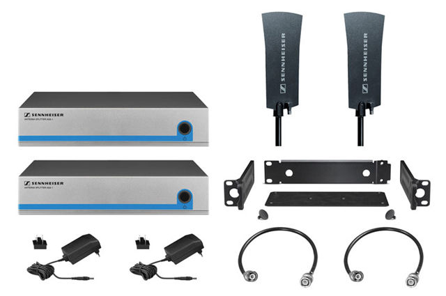 Sennheiser G3OMNIKIT8 Active Splitter Kit for Eight Receiver System