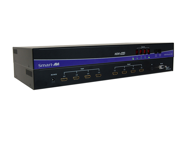 Smart-AVI HDR4X4 1080p 4x4 HDMI Router