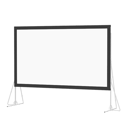 Da-Lite Heavy Duty Fast-Fold Portable Rear Projector Screen (16ft. x 9ft.)