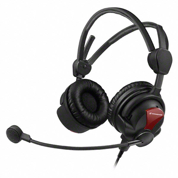 600 Ohm Professional Headset w/ Single-sided Hypercardioid Dynamic Microphone
