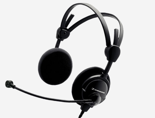 Air Traffic Control Headset w/ Dynamic Microphone