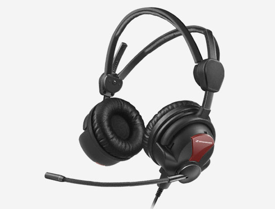 600 Ohms Professional Headset w/ Cardioid Condenser Microphone & 3m Cable