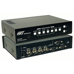 HRT TVB-400A Switching Video Scaler w/ Audio