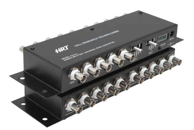 Hall Research 210-LU 2-port RGBHV Splitter with Universal Sync Input