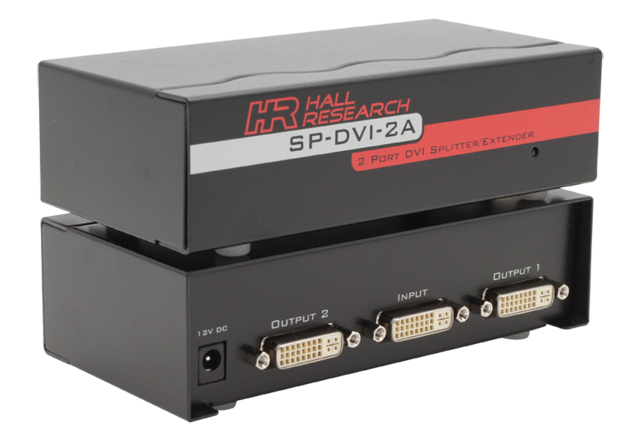 Hall Research SP-DVI-2A 2-port DVI Splitter/Extender