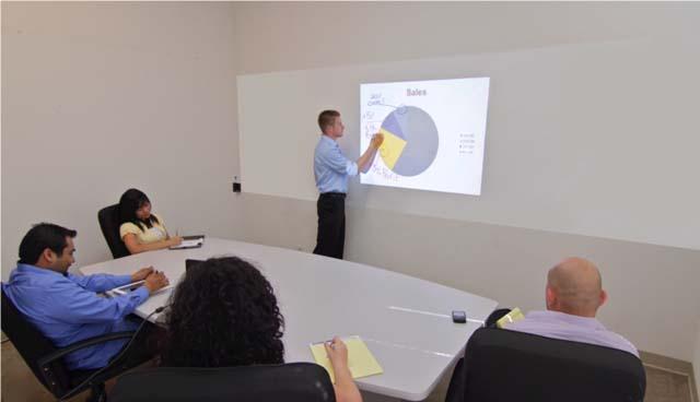 Insta-DE (4.2' x 30') Whiteboard-Projection Screen Film Covering