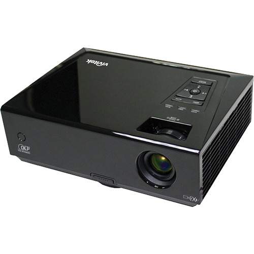 Vivitek D837 XGA 3200 Lumen 3D DLP Portable Projector