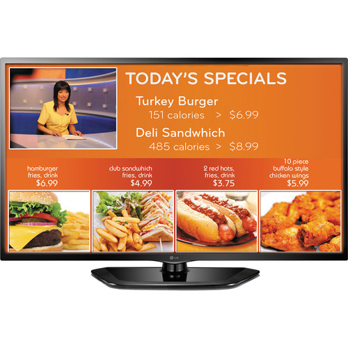 LG 55LN549E 55in. EzSign Commercial TV for Digital Signage