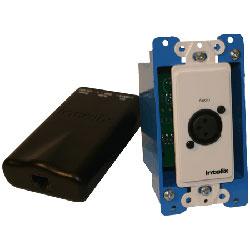 Intelix AVO-MIC-WP-F Microphone Balun WallPlate