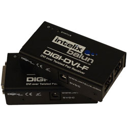 Intelix DIGI-DVI-F DVI Twisted Pair Extender