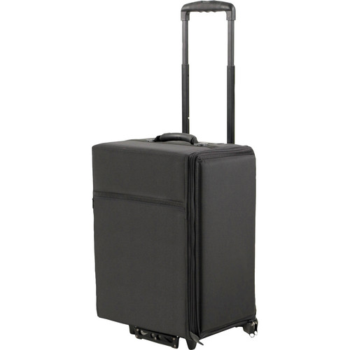 Jelco JEL-1810W Padded Roller Bag for 5 laptops