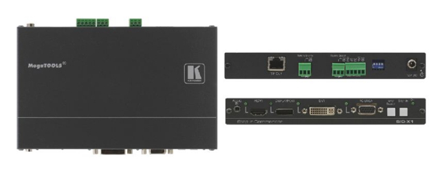 Kramer SID-X1 4-Input Multi-Format Video over DGKat Twisted Pair Transmitter & Step-In Module