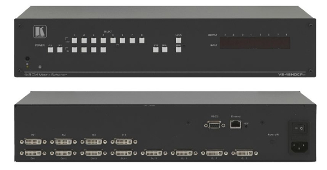 4x8 DVI Matrix Switcher