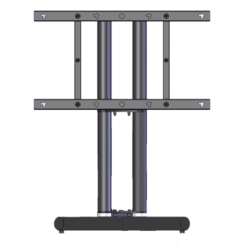 NEC LCD8205-FSK Floor Stand Kit for 82-inch NEC MultiSync LCD8205