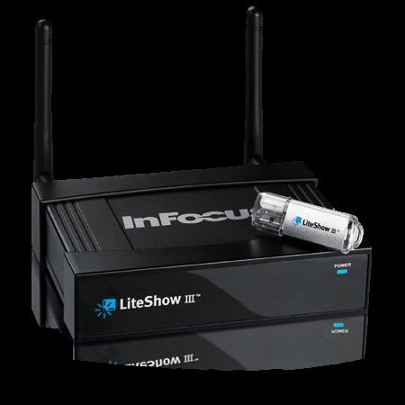 InFocus LiteShow III Wireless Presentation Adapter