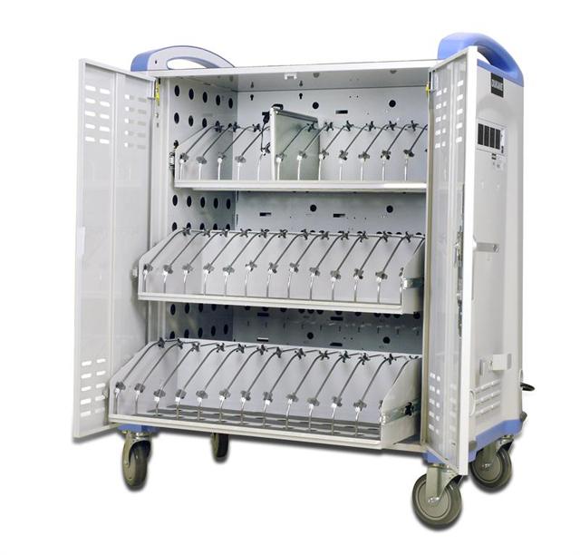 Dukane MCC3 Chromebook™/Netbook Charging Storage Cart