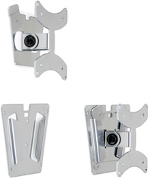 PDR MDWM100 Ultra Thin Fixed Flat Wall Mount for TVs up to 22