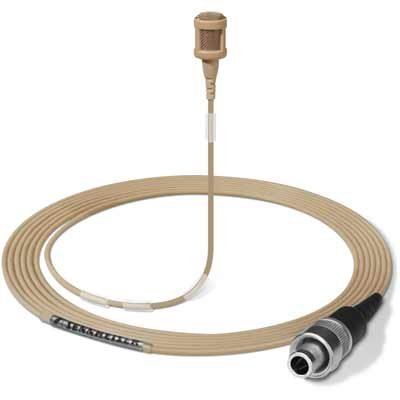 Lavalier Microphone with 3-pin Lemo Connector, Beige