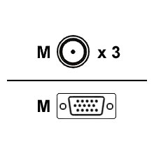 Mitsubishi VGA-RCA3 Cable