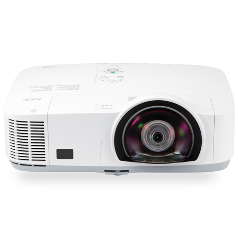 NEC NP-M300XS 3000lm Short Throw Projector - Factory Refurbished